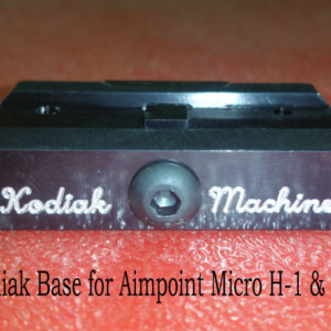 Kodiak Base for Aimpoint Micro H1 and H2