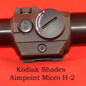 Kodiak/DHE Shades with screw on rear H2
